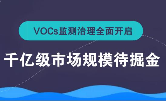 VOCs挥发性有机物监测系统应运而生 千亿级市场规模待掘金
