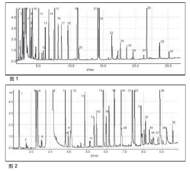 润扬仪器快速气相色谱仪测定白酒中香味成分及其含量